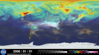 NASA 2006 Carbon visualization